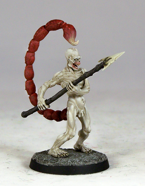 Bonedevil Demonsanddevilsx1fig on pewter metal