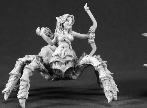 Isiri Arachnid Archer Female Drider Warlord