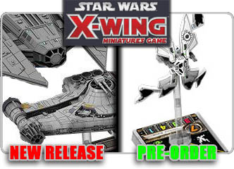 Star Wars X-Wing Miniatures Game!