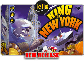 King of New York Board Game!