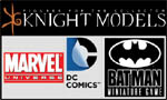 Batman, DC, Marvel Miniatures - Knight Models