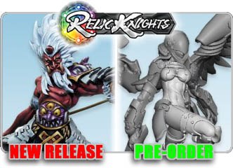 Relic Knight Miniatures!