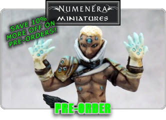 Numenera Miniatures By Reaper!