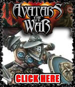 Avatars of War Minaitures!