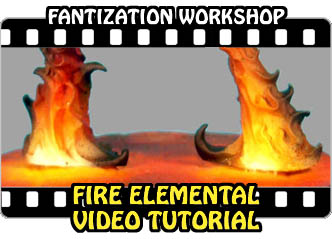 Fire Elemental Tutorial Video