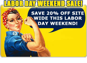 Labor Day Sale 20% Off!