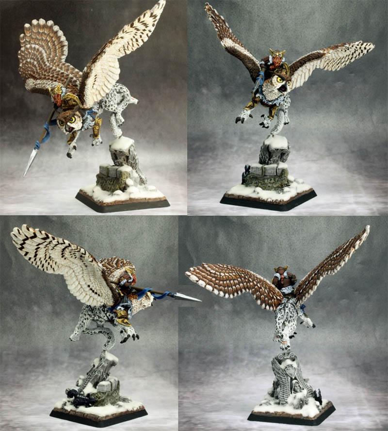 Hrolfgad Loftsaddle Dwarf Griffon Rider Warlord X1 Fig