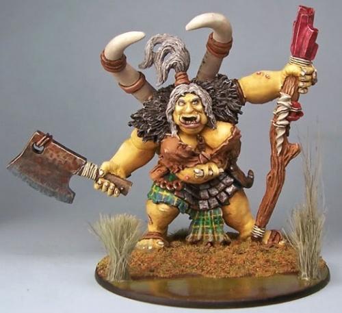 Talanka Female Ogre Shaman Dark Heaven