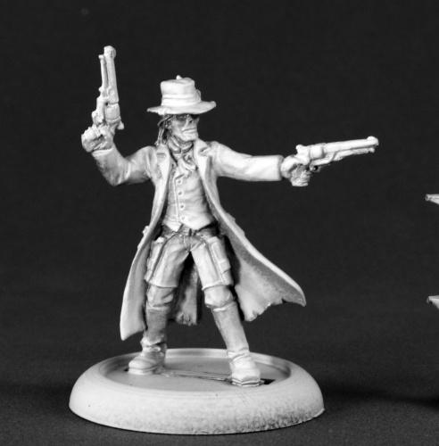 Stone, Gunslinger Cowboy - Savage Worlds (x1 fig)