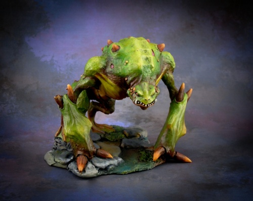 Toad Demon Bones