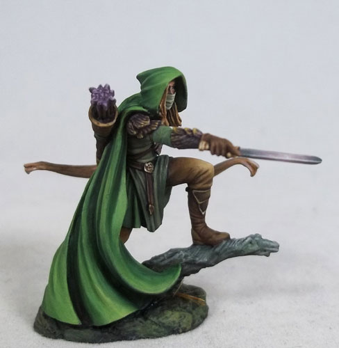 Male Elven Ranger With Bow Visions In Fantasy