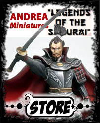 Andrea Miniatures - Legends of the Samurai