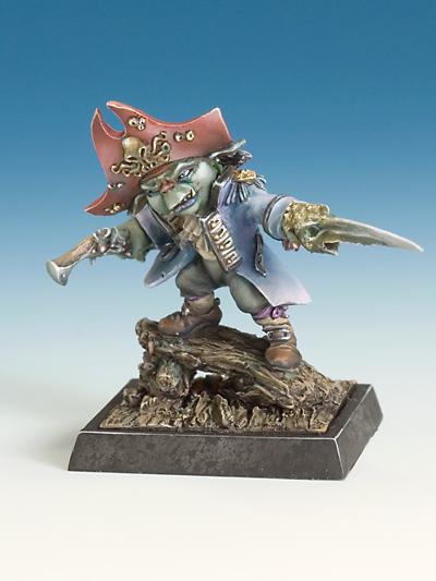 Chulo Bolu Goblin Pirate Captain Goblin Pirates X1 Fig