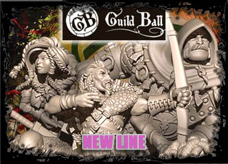 Guild Ball by Steamforged Games!