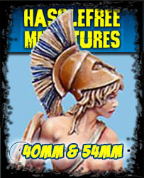Hasslefree Miniatures - 40mm to 54mm