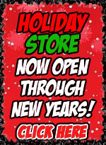 HOLIDAY STORE IS OPEN!