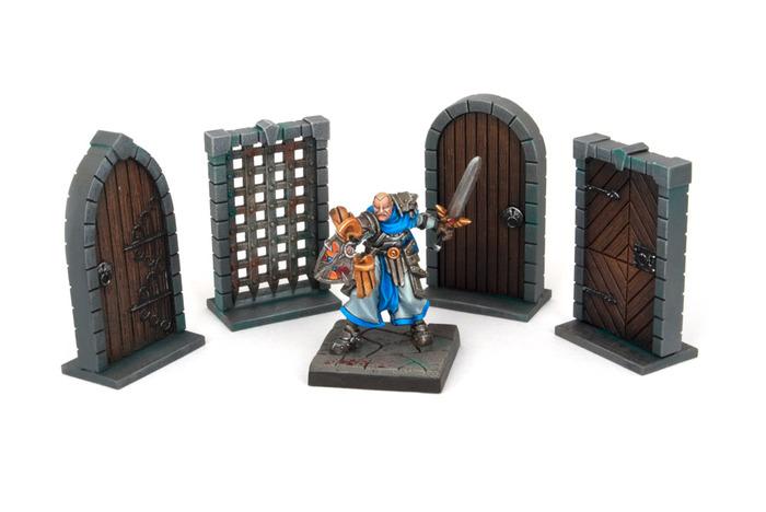 Dungeon Doors Pack - Dungeon Saga (x1 pack)  sc 1 st  Fantization Miniatures & Dungeon Doors Pack - Dungeon Saga pezcame.com