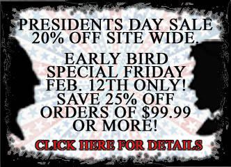 Valentines/ Presidents Weekend Sale!