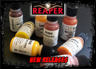Reaper Master Series Paints!