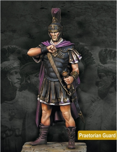 Praetorian Guard w/ Helmet on or off - 75mm - Box Set (x1 fig)