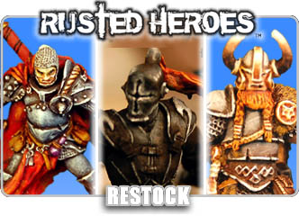 Rusted Heroes Miniatures!