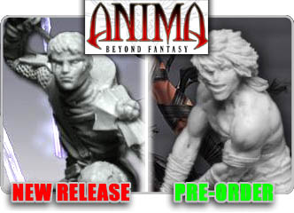 Anima Tactics Miniatures!