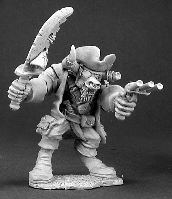 Turuk Stongbull Minotaur Pirate Dark Heaven X1 Fig