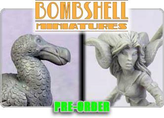 Bombshell Miniatures!