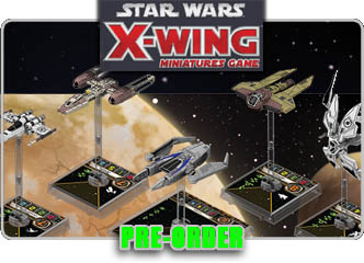 Star Wars X-Wing Miniatures!