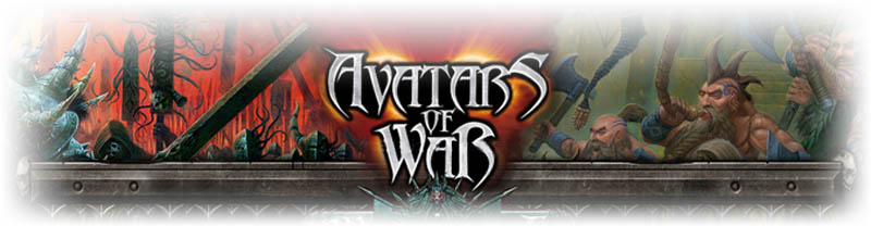 Avatars of War Miniatures