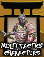 Multi-Factioned Characters - Bushido Miniatures