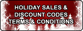 Holiday Discount Terms