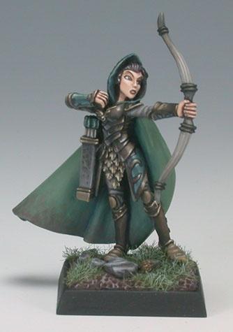 Alistrilee Female Elf Ranger W Bow Dark Heaven X1 Fig