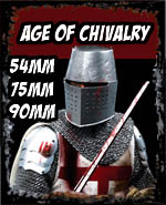 Age of Chivalry 54, 75, 90mm - Andrea Miniatures