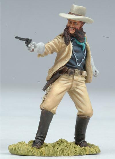 Lieutenant Cooke Shooting Colt 54mm Box Set Custer S Last