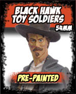 Black Hawk Toy Soldiers 54mm Pre-Painted - Andrea Miniatures
