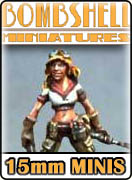 Bombshell 15mm Miniatures