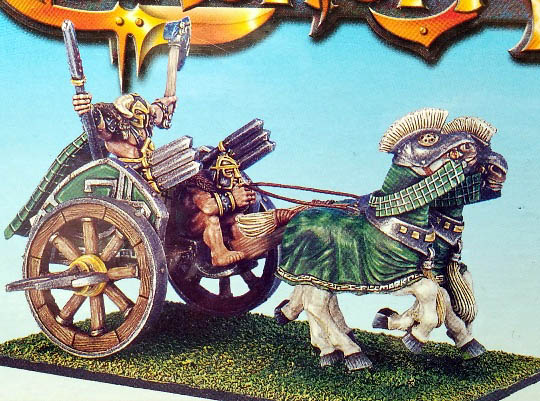 Sons of Kronos Scythed Chariot Box Set - Chronopia