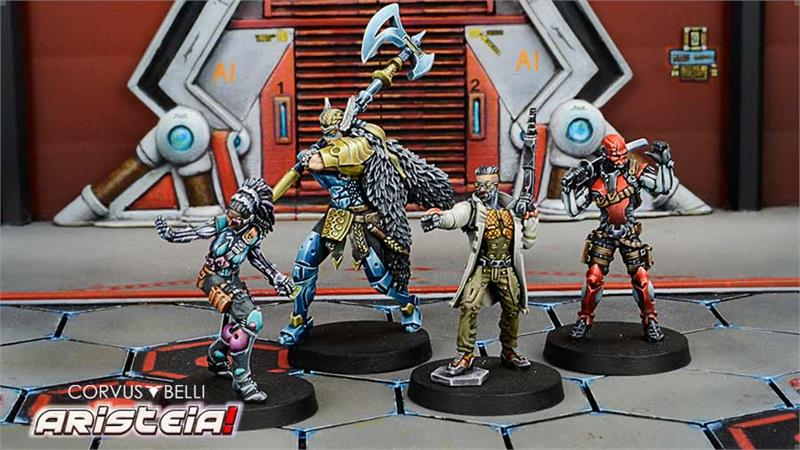 Soldiers of Fortune Box Set - Aristeia!
