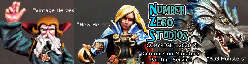 Number Zero Studios Commission Painting Service!