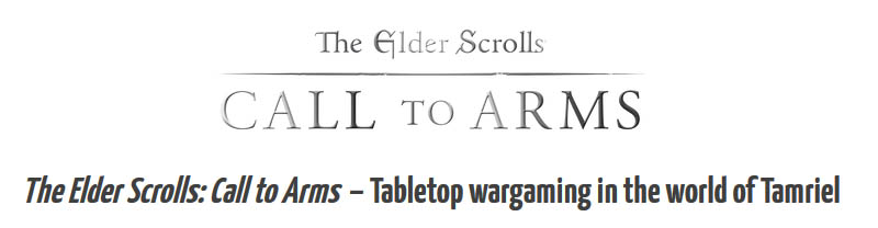 Elder Scrolls: Call to Arms Store