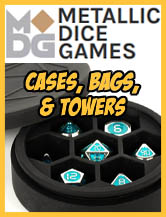 Cases, Bags, & Dice Towers - MDG