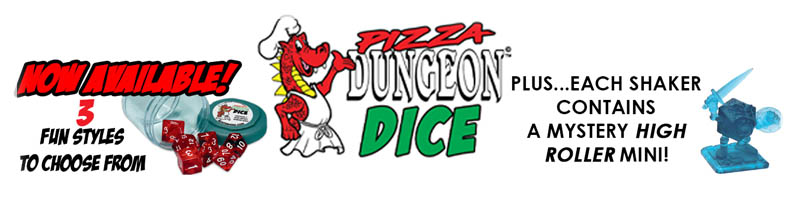 Pizza Dungeon Dice Store!