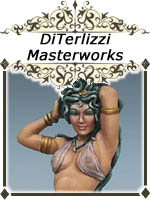 DiTerlizzi Masterworks - Dark Sword RPG Miniatures