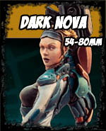 Dark Nova 54-80mm - Andrea Miniatures