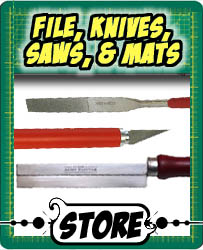 Files, Knives, and Saws - Hobby Tools