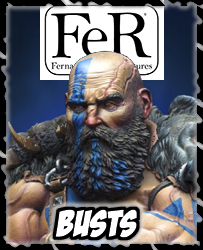 Collectable Figures 54mm, 75mm, 80mm, and Busts