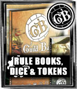 Rulebooks, Dice, & Tokens - Guild Ball