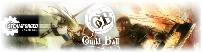 Guild Ball by Steamforged Games