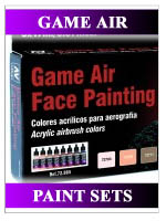 Game Air Paint Sets - Vallejo